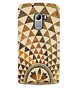 ColourCraft Lovely Pattern Design Back Case Cover for LENOVO A7010