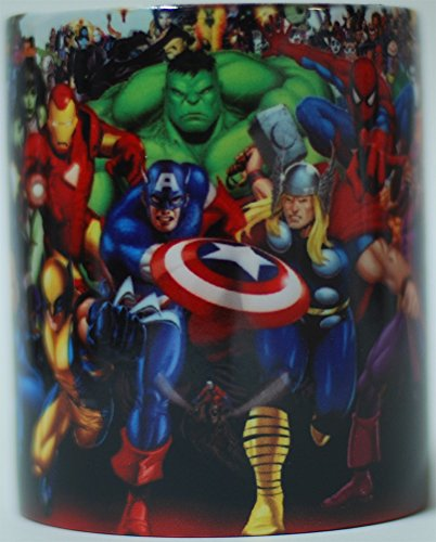 Tazza con manico Eroi marvel Iron Man gadget Avengers comics wolverine hulk capitan america gadget spiderman thor the avengers
