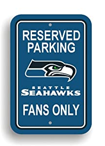 NFL Seattle Seahawks Plastic Parking Sign