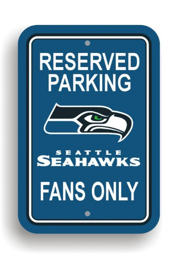 NFL Seattle Seahawks Plastic Parking Sign at Amazon.com
