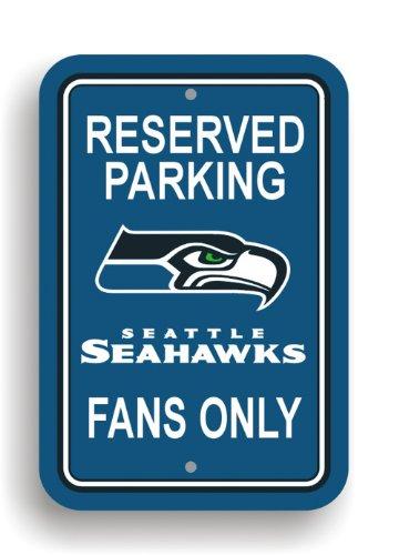 NFL-Seattle-Seahawks-Plastic-Parking-Sign