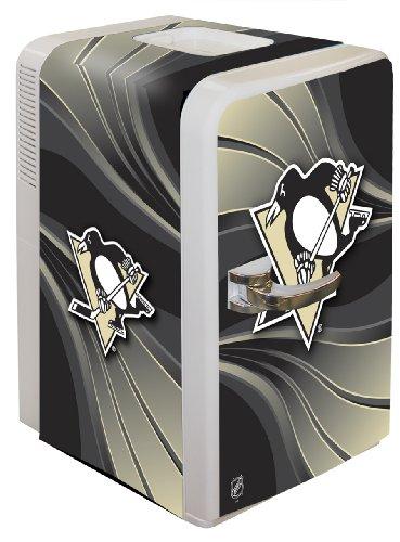 NHL Pittsburgh Penguins Portable Party Fridge, 15.8 Quart (Penguin Fridge compare prices)