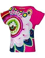 Desigual Agejas - T-shirt - Imprimé - Manches courtes - Fille