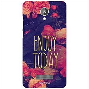 Design Worlds Back Cover Case For Micromax Canvas Spark Q380