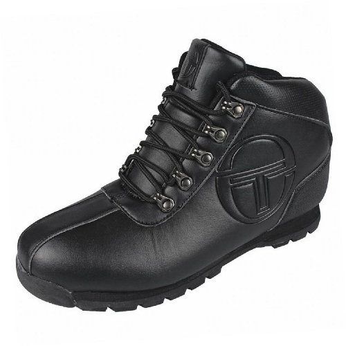 Sergio Tacchini Little Boys' Synthetic Quay Mid Casual School Boots 6 Us / 5 Uk / 38 Eu Black (Sergio Tacchini Shoes compare prices)