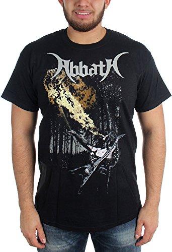 Abbath _, Breathing t_shirt Fire nero Large