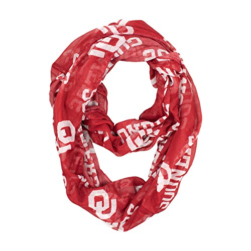 ncaa-oklahoma-sooners-sheer-infinity-scarf-one-size-red