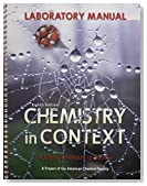 Laboratory Manual Chemistry in Context 8th edition by American Chemical Society (2014) Spiral-bound