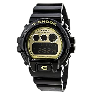 Casio G-Shock Chronograph Resin Strap Gold Mirror Dial Men's watch