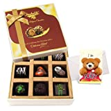 Mellow Surprises Of Dark Chocolate Box With Sorry Card - Chocholik Belgium Chocolates