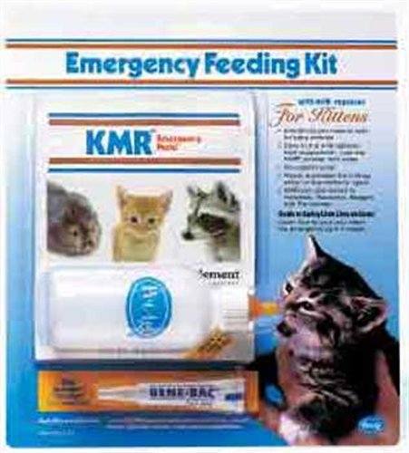 PetAg Kitten Milk Replacer KMR Emergency Feeding KitB0002AT15I