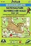 Fritsch Karten, Nr.59, Nationalpark Bayerischer Wald