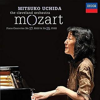 Book Cover: Mozart: Piano Concertos No.17, K.453 & No.25, K.503