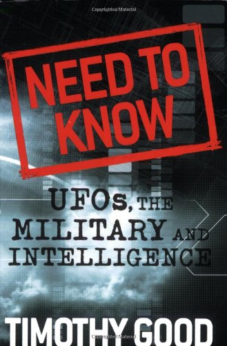 Need to Know: UFOs, the Military, and Intelligence