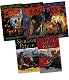 Lynn Flewelling Lynn Flewelling Nightrunner 5 Books Collection Pack Set RRP: £39.95 (The White Road, Shadow's Return, Luck in the Shadows, Traitor's Moon, Stalking Darkness)