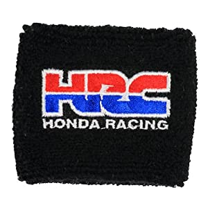 HRC Honda Racing Clutch Reservoir Sock Cover Available in Black, Orange and Red CBR, 600, 1000, 600RR, 1000RR, 954, 929, RC51