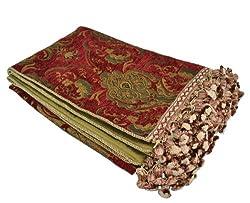 Sherry Kline China Art Red Luxury Throw