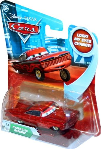 Disney / Pixar CARS Movie 1:55 Die Cast Car with Lenticular Eyes Hydraulic Ramone - 1