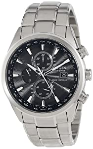 Citizen Men's AT8010-58E Eco-Drive World Chronograph A-T Watch