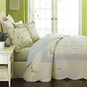 Martha Stewart Collection Bedspread Full Reversible