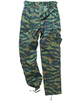 Tactical Military Combat Cargo Mens Trousers Pants Work Wear Tiger Stripe Camo