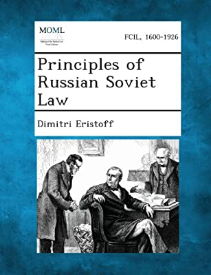 Principles of Russian Soviet Law