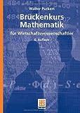 Image de Brückenkurs Mathematik für Wirtschaftswissenschaftler (Studienbücher Wirtschaftsmathematik)