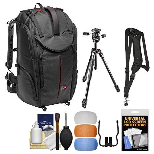 Manfrotto Pro Light Pro-V-610 PL DSLR Video Camera Backpack & 290 Xtra 67.5