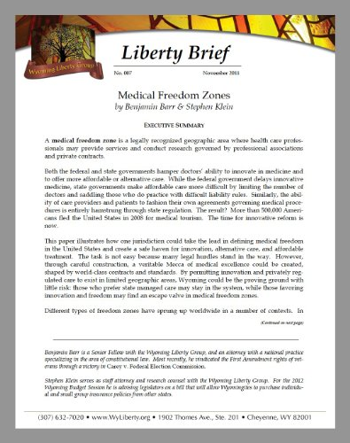 medical-freedom-zones-liberty-brief-book-7-english-edition