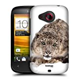 Head Case Snow Leopard On Ice Wildlife Snap-on Back Case Cover For Htc Desire C