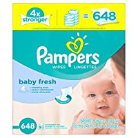 Pampers Baby Fresh Wipes Box