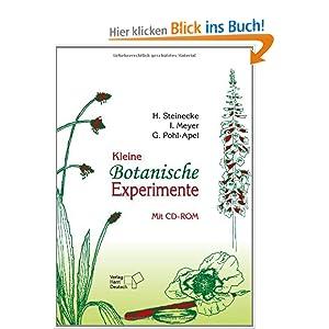 kleine botanische experimente hilke steinecke. Black Bedroom Furniture Sets. Home Design Ideas