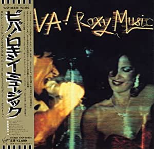 Roxy Music Viva Roxy Music The Live Roxy Music Album