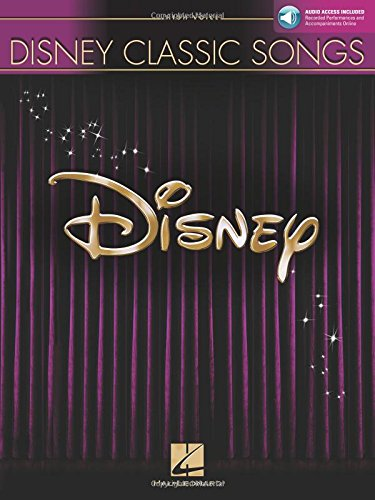Disney Classic Songs: High Voice with online audio