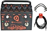 Amptweaker TightMetal Pro Tight Metal High Gain Distortion Pedal w/ 3 Cables by Amptweaker