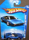 2010 HOT WHEELS ALL STARS 128/240 BLUE FERRARI 308 GTS 10/10