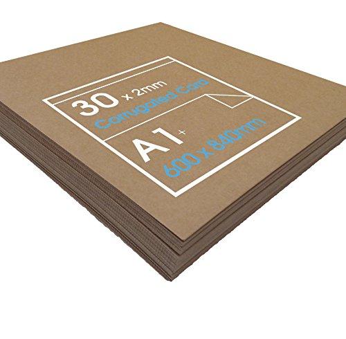 smurfit-kappa-carton-ondule-pour-arts-plastiques-et-maquettes-125-g-m-840-x-600-x-2-mm-30-planches