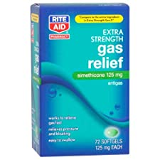 Rite Aid Extra Strength Gas Relief, Softgels 72 ct.