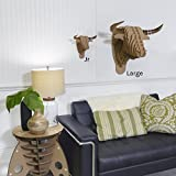 Toro Cardboard Bull Head (Brown, Large)