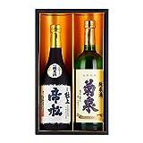 日本酒 地酒 ギフトセット 帝松 菊泉 飲み比べ 埼玉 純米 720mlx2本