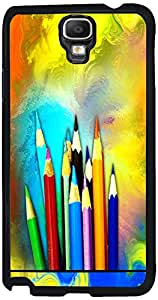 Printvisa 2D-SGN3N-D7631 Abstract Pencil Color Case Cover For Samsung Galaxy Note 3 Neo 3G Sm-N750