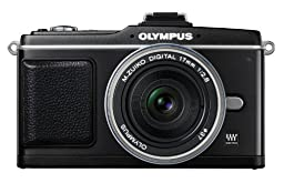 Olympus PEN E-P2 12.3 MP Micro Four Thirds Interchangeable Lens Digital Camera with 17mm f/2.8 Lens (Electronic View Finder not included)