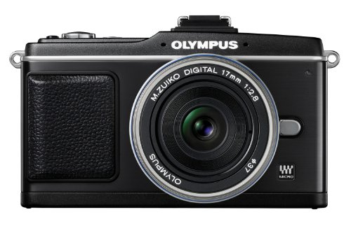 Olympus PEN E-P2 12.3 MP Micro Four Thirds Interchangeable Lens Digital Camera with 17mm f/2.8 Lens (Electronic View Finder not included) Big SALE