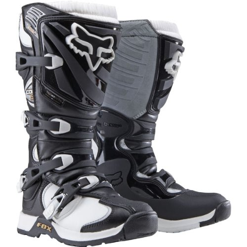 Fox Racing Comp 5 Women's Motocross/Off-Road/Dirt Bike Motorcycle Boots - Black/White / Size 7