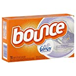 Bounce With Febreze Fresh Scent Fabric Softener Sheets, Spring & Renewal, 70 sheets