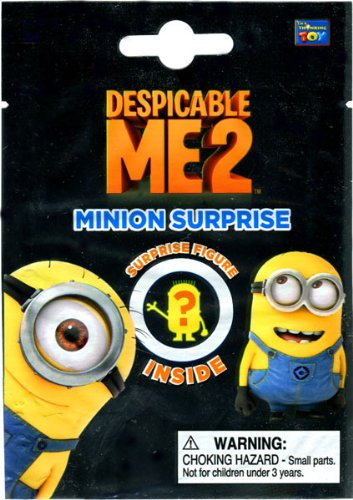 Despicable Me 2 Mystery Mini Figure Pack [1 Surprise Figure] - 1