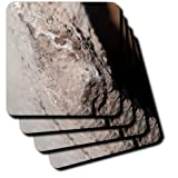 cst_57943_1 Jos Fauxtographee Realistic - A Piece of Concrete Shot Close up with a Large Aperture - Coasters - set of 4 Coasters - Soft
