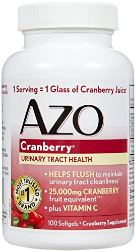 How many cranberry pills to take for uti
