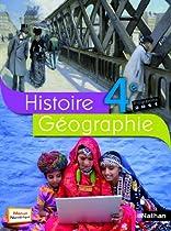 Histoire-géographie 4e : Programme 2011