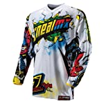 O'Neal Element Villain Downhill Jersey Gentlemen white/yellow Size
